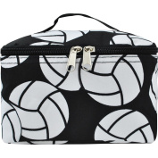 Volleyball Print Cosmetic Case