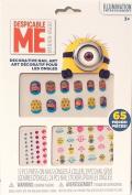 Despicable Me Children's Decorative 65 Piece Nail Art Set