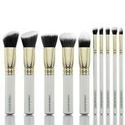 Pure Body Naturals - Synthetic Kabuki Makeup Brush Set Cosmetics Foundation Blending Blush Eyeliner Face Powder Brush Makeup Brush Kit