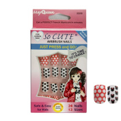 So Cute Airbrush Fake Nails False Nails 22230
