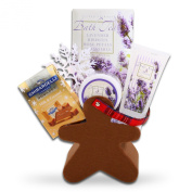 Very Merry Holiday Lavender Spa Gift Basket