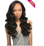 "Outre Simply 100% Non-processed Human Hair Brazilian Natural Flexi Curl Perfect7 10""12""14"" Natural Brown"