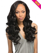 "Outre Simply 100% Non-processed Human Hair Brazilian Natural Flexi Curl Perfect7 5.5m22"" Natural Brown"