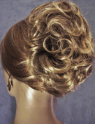 HAYLEY Clip On Hairpiece by Mona Lisa - 8T124 Brown-Blonde