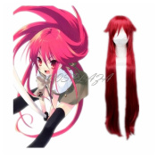 COSPLAZA Black Butler Grell Sutcliff Long Wine Red Cosplay Wig Anime Full Hair