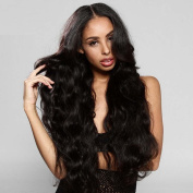 Sunny Grace®150 Density Brazilian Human Hair Lace Front Wigs for Black Women Natural Black Hair Wavy Glueless Wigs