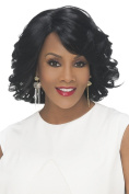 Vivica A. Fox DARBY New Futura Heat Resistant Synthetic Fibre, Pre Cut Lace Front Wig in Colour M1DP
