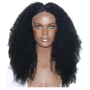 Gloryhair Glueless Heat Resistant Fibre Synthetic Full Front Lace Wigs Hair Lace Front Wig Afro Kinky Curly Black