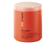 Inebrya Ice Cream Dry-t Mask Banana Nourishing Mask for Dry, Frizzy and Treated Hair 1000ml