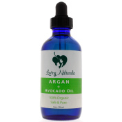 Loving Naturals 100% Organic Argan + Avocado Oil for Face, Hair Treatment, Anti-Ageing, Skin for Sensitive, Oily or Severely Dry Skin for Women and Men