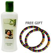 Shahnaz Husain Champi Hair Oil - 100ml - with FREE GIFT (Pair of Multicolor Bangles) and.