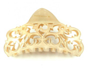 France Made Acetate Hair Clamp Claw Clip Barrette Gift C12018 Nude High Quality