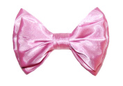 Marialia Satin Double Layer Bow Strawberry Pink