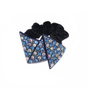 Twinkle® Hair Accessories - Crystal Scrunchies - Triangles X1