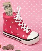 Fashioncraft Pink Ceramic Sneaker Bank
