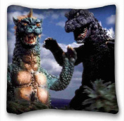 Custom Characteristic ( Godzilla ) Soft Pillow Case Cover 20*80cm (One Sides)Zippered Pillowcase suitable for Twin-bed