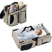 EZ Travel Bed for Infants is an excellent Travel Bassinet and Nappy Bag. This Portable Baby Bed ensures your infant sleeps safe and comfortable no matter where you are. Give the gift of peace of mind