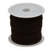 pandahall 1Roll CoconutBrown Flat Faux Suede Cord 3x1.5mm 5m/roll DIY Jewellery Threads
