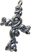 RaanPahMuang Triquetra Knot Mould Christian Celtic Stainless Steel Pendant Charm