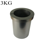 Graphite Crucible 1 / 2 / 3 / 4KG Metal Melting Gold Silver Scrap Casting Mould