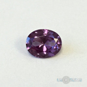 Alexandrite. Lab Created Corundum Swiss. Oval 10x8mm. 3ct. US@GEMS