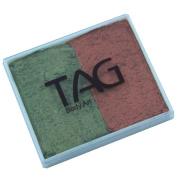 TAG 2 Colour Split Cake - Pearl Copper and Pearl Bronze Green