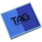 TAG 2 Colour Split Cake - Powder Blue and Royal Blue