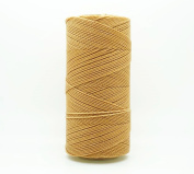 STRAW 1mm Waxed Polyester Twisted Cord Macrame Bracelet Thread Artisan String