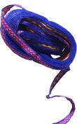RaanPahMuang Brand Thin Trimming Ribbon - Blue - 1 cm x 13 yard