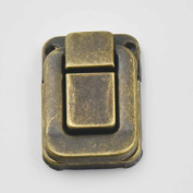 8 Sets 32mmx46mm Toggle Case Catch Latch Trunk For Drawbolt Closure Box Chest Suitcase Bag Bronze