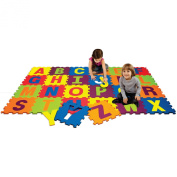 Best Brands Alphabet Puzzle Activity Play Mat, Multicolor