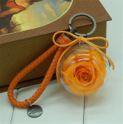 Huge Roses Immortalised Flower Never Withered Roses, Upscale Immortal Flowers, Fresh Roses, Gift Boxes,miniature Dollhouse Toy Birthday Christmas Gift Keychain Jewellery Pendant Pendant