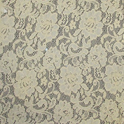 Champagne Lace Floral Design 217 Fabric 170cm width sold by the yard