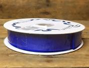 Sapphire Blue Grosgrain #3 Ribbon 1.6cm X 25 Yards