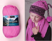 50g50ml Superwash Wool Sportsgarn Double Knitting Yarn By Viking Garn #165