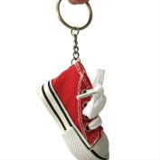 Canvas Sneaker Tennis Shoe Sneaker Keychain #0455