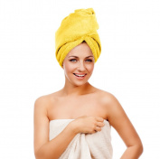 Twisty Turban Microfiber Super-Absorbent Hair Towel