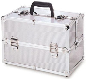 TZ Case TC06 Beauty Case - Silver Stripe TC-06-SS