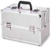 TZ Case TC06 Beauty Case - Silver Stripe TC-06-SS