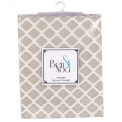 Ben & Noah Fitted Crib Sheet- Linen