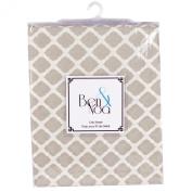 Ben & Noah Fitted Crib Sheet- Linen