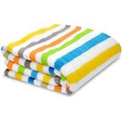 Little Starter Toddler Blanket, Multi Stripe, Super Soft and Lightweight, Machine Washable