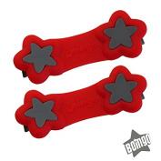 Boingo Baby Cloth Nappy Fastener - Athlete Red