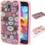 BLT® S5 Case, Galaxy S5 Cute Cookies Case, Slim Soft Tpu with Hard Edge Cover for for Samsung Galaxy S5 I9600, Screen Protector and Dust-absorber As Gift,
