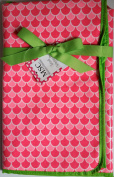 Mainstreet Collection Travel Changing Pad Pink Scales
