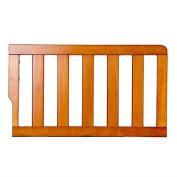 Dream On Me Universal Convertible Crib Toddler Guard Rail, Pecan