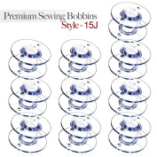 Click Down Style 15J Sewing Machine Bobbins for Singer - 10 Pcs