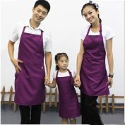 Polyester Restaurant Chefs Kitchen Cooking Apron with Pocket Kids Adults Aprons