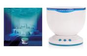 Anpress Blue Ocean Daren Waves Night Light Projector Speaker Lamp