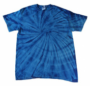 Blue Royal Tie Dye Toddler Tee 2T, 3T, 4T 100% Pre-Shrunk Cotton Short Slevee